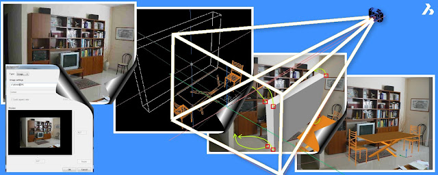 camera match in bricscad