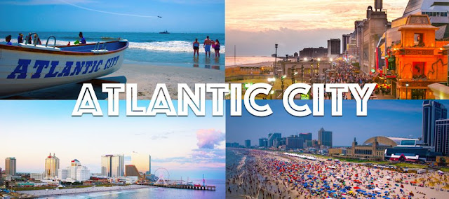 Atlantic City Postcard