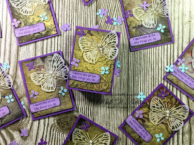 Check out my little ATC cards entitled Golden Summer that I made as a gift for my Class Attendees.    Click here to read more about them.