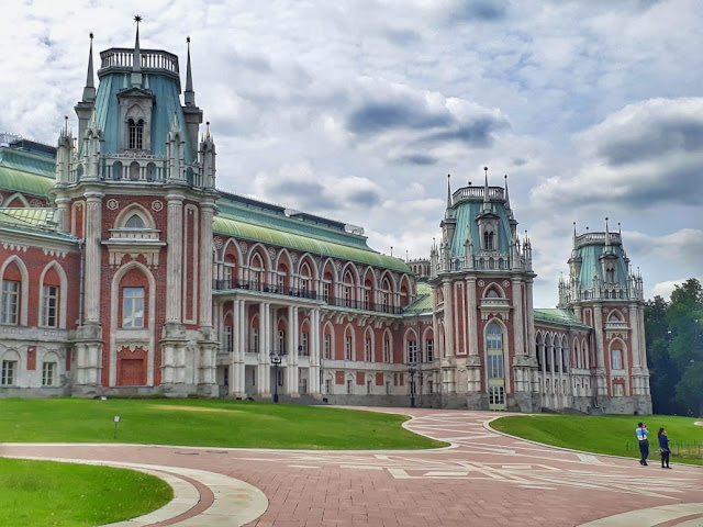 Parque Tsaritsyno Moscou Russia