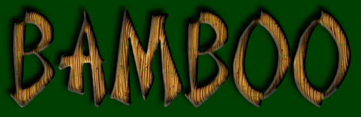 Text Effect Tutorials: Create a bamboo text logo effect