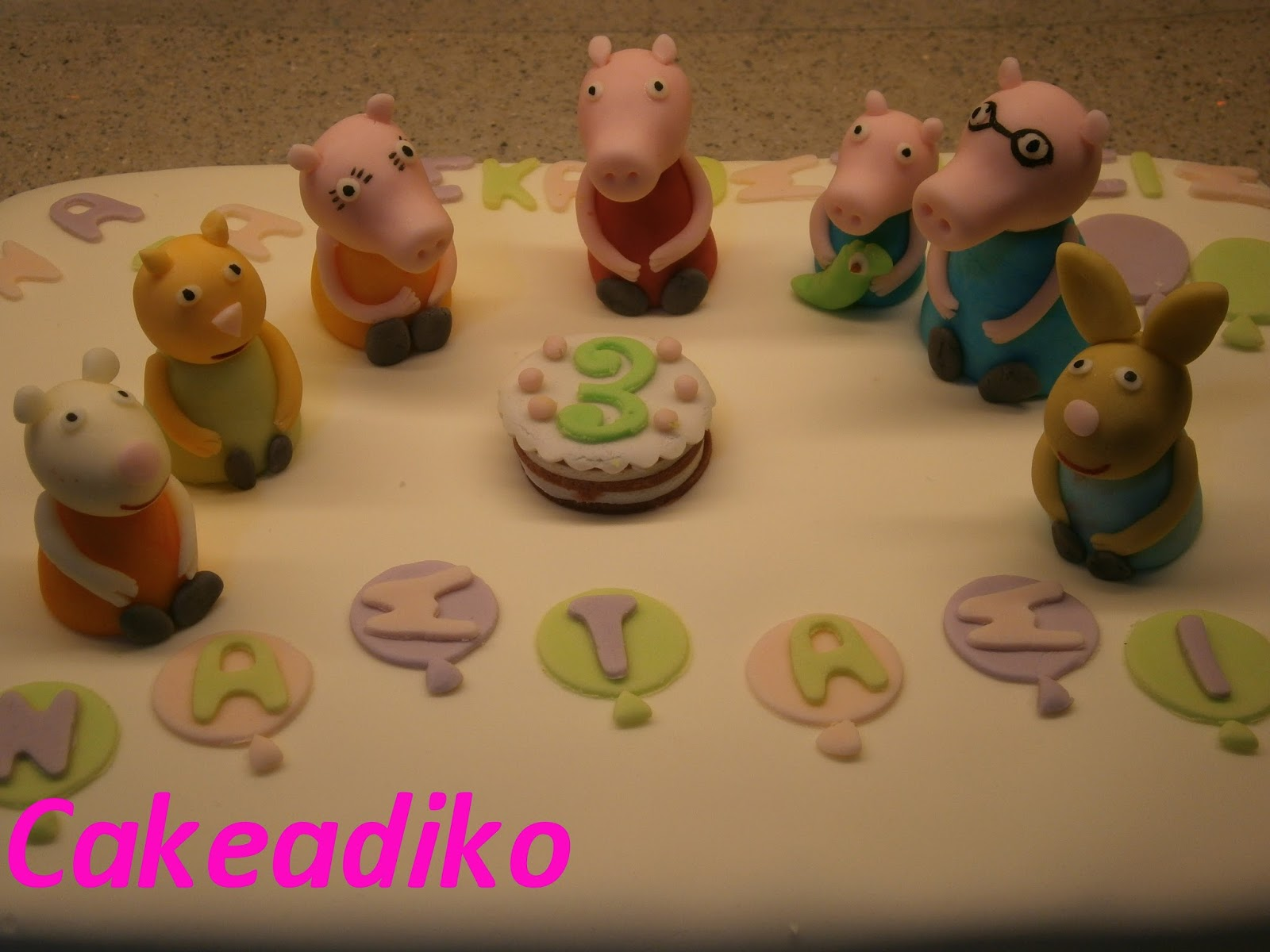 To Cakeά Peppa Pig And George Pig Cakes