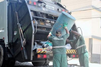 Caminhão de lixo serão fiscalizados por vazamento de chorume