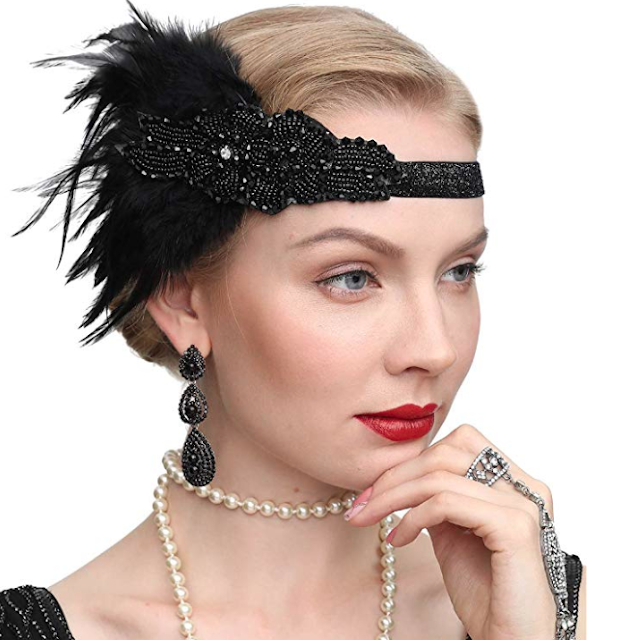 Roaring 20's Head Piece