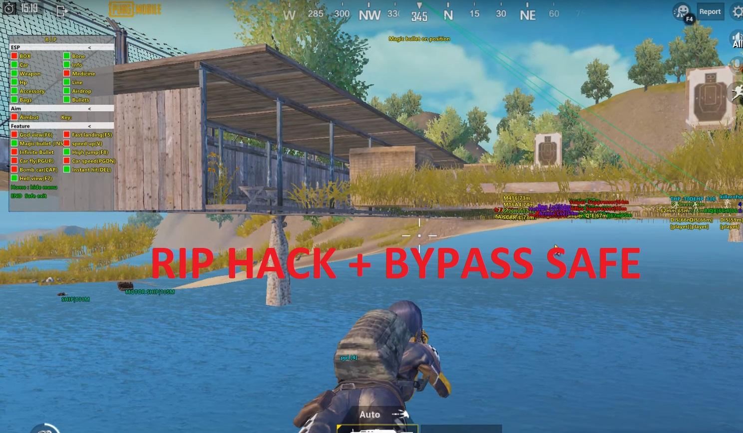 R.I.P VIP CRACK FULL FUNCTION + BYPASS
