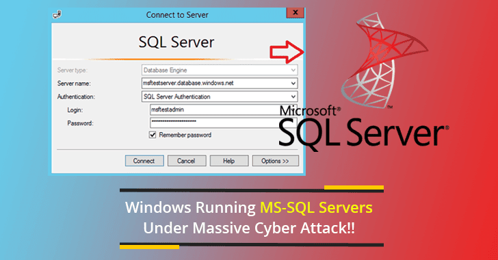 Windows Running MS-SQL Servers Under Attack!! Hackers Installing 10 Secret Backdoors on Servers