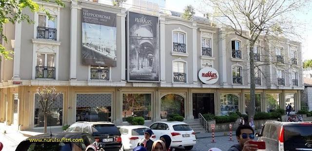 makan siang di buhara 93 restaurant turki nurul sufitri travel lifestyle blogger culinary umroh city tour istanbul