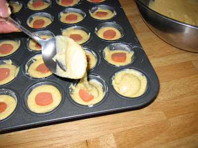 Corn muffins made for dogs