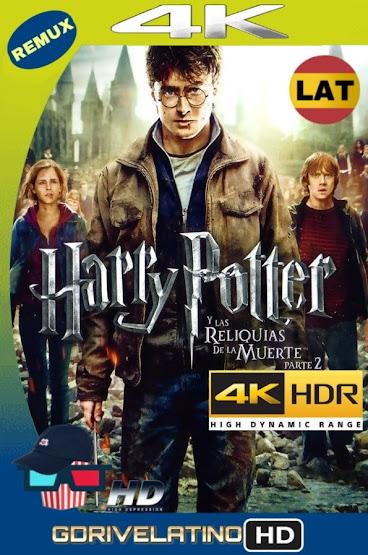 Harry Potter y Las Reliquias de la Muerte – Parte 2 (2011) REMUX 4K HDR Latino-Ingles MKV