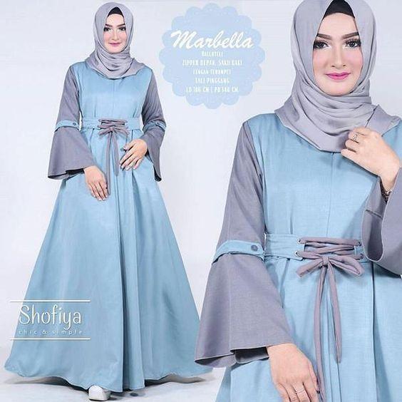 30 Model Baju Gamis Sasirangan Terbaru: 99 Trend Fashion Busana Muslim Wanita Gamis Dress Terbaru