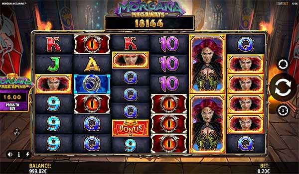 Main Gratis Slot Indonesia - Morgana Megaways (iSoftbet)
