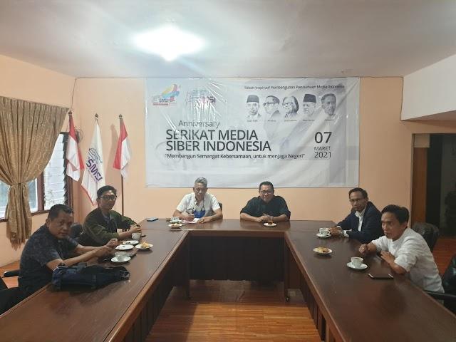 Ketua Umum PRD Kunjungi Kantor Pusat SMSI, Bahas Masa Depan Bangsa