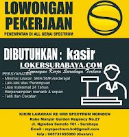 Lowongan Kerja Surabaya di Gerai Spectrum Nginden Agustus 2020