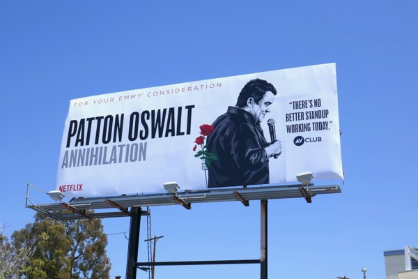 Patton Oswalt Annihilation Emmy FYC billboard