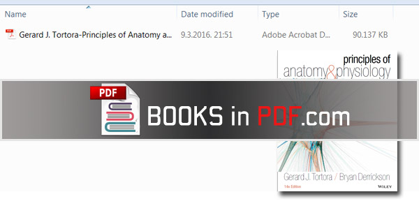 Free PDF Textbooks Download: Principles of Anatomy and Physiology ...