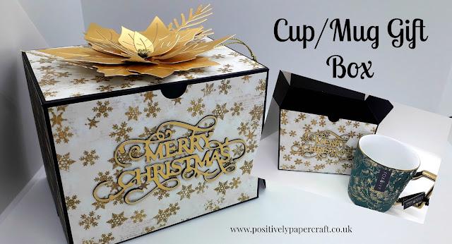 Positivelypapercraft Mug gift box