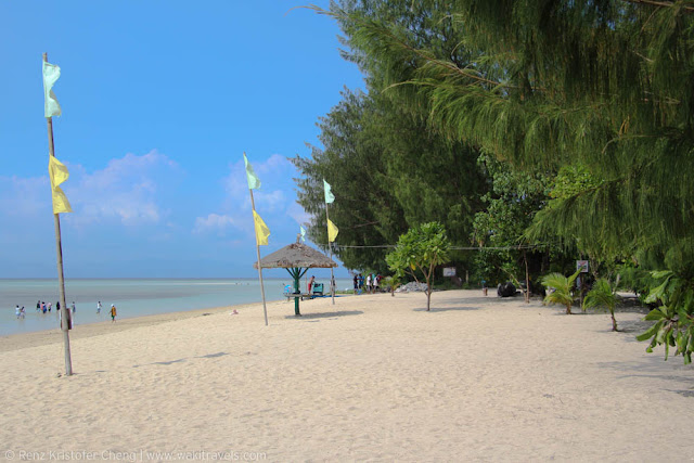 Cagbalete Beach in Mauban, Quezon Province