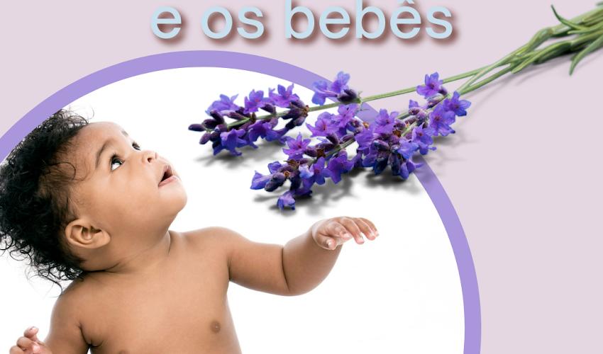 Óleo Essencial de Lavanda e Bebês
