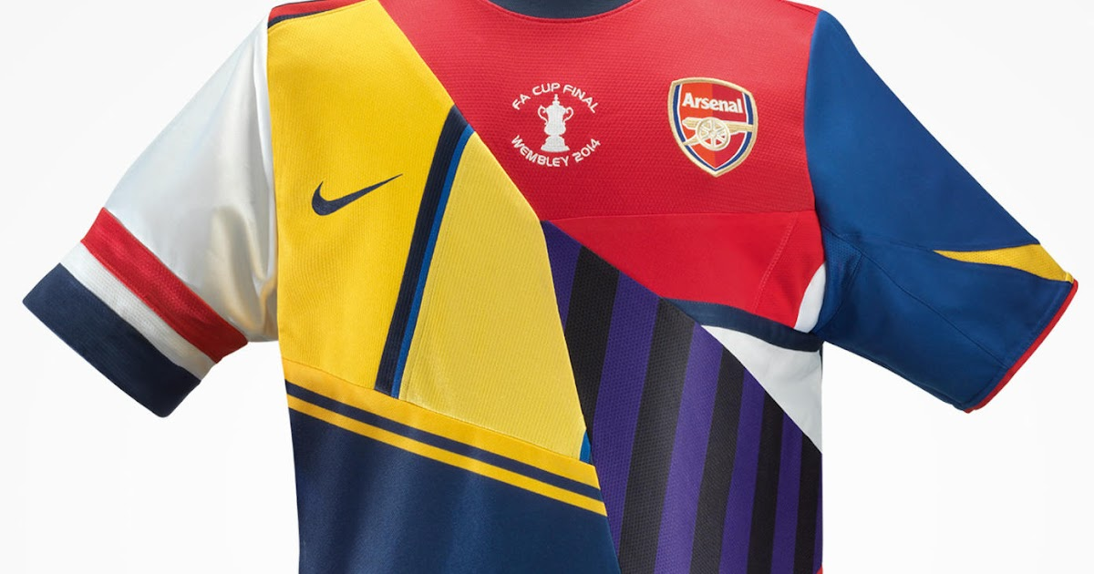 cheap for discount 9c9b3 729c6 Nike Unveils Commemorative Arsenal Kit To Mark The 20-Year ...