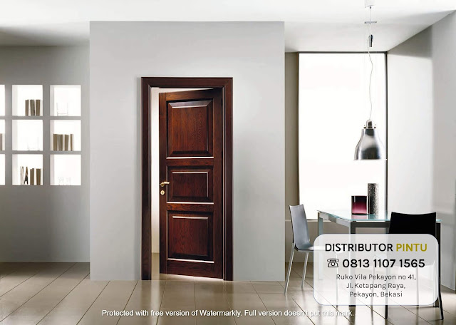 jual pintu plywood Banjarmasin