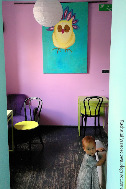 Kofifi Kalimba, czyli gdzie zjeść coś słodkiego i wypić kawę z maluchem u boku