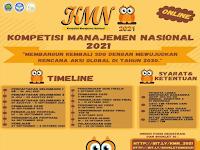 Kompetisi Manajemen Nasional 2021 di Universitas Negeri Malang