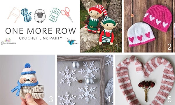 One More Row - Free Crochet Link Party #27