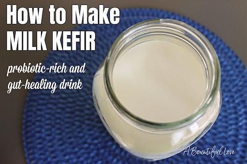 Milk Kefir Recipe