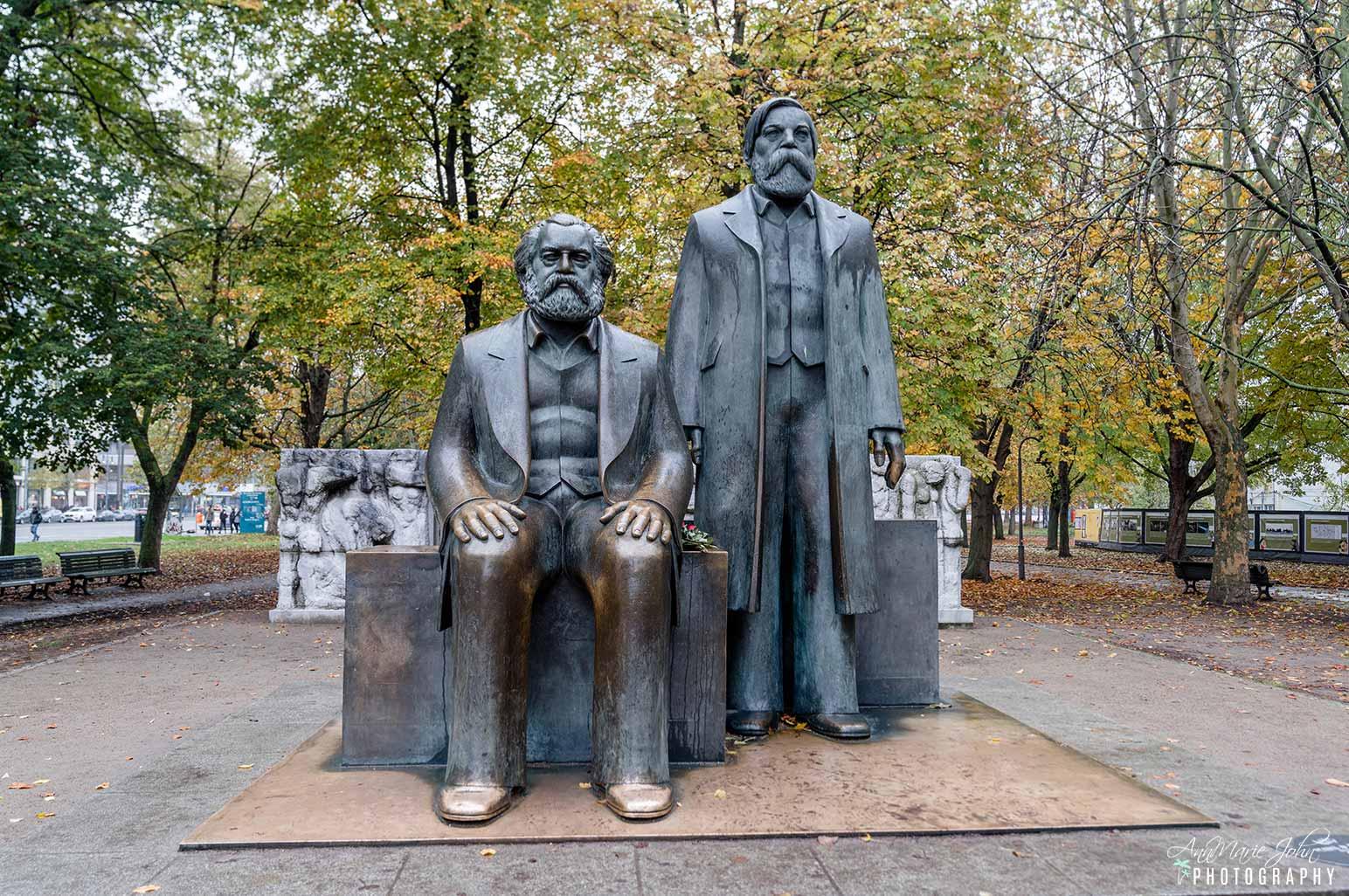 Statues in Berlin Germany