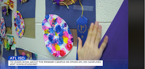 Atlanta Primary hosts fun and artistic Easter egg decorating contest with hilarious TV report