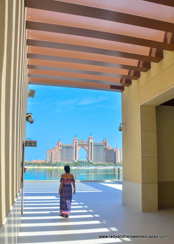 Lady at The Pointe Dubai