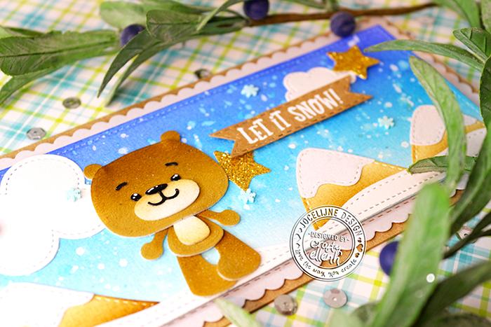 #Jocelijne #Carlijndesign #Jocelijnedesign #handmadecard #cardmaking #stamping #friendshipcard #crittercard #patootiesdieset #happysmilesdie #christmascard #christmasinjuly #handmade #dieset #paperart #hobby #distressink #papierkunst #dutchcardmaker #cloud9crafts #doeading #scrapenco #noorenzo  #thermoweb #flock #DecoFoilFlockTransferSheets #newtonsnookdesign