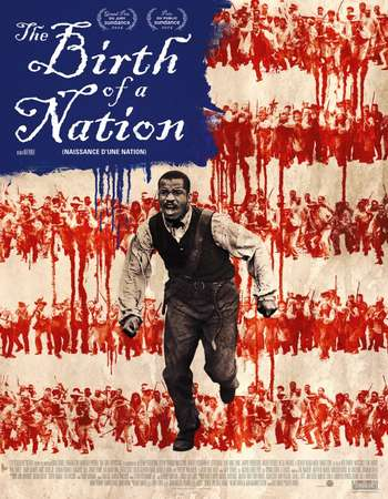 Poster Of The Birth of a Nation 2016 Hindi ORG Dual Audio 550MB BluRay 720p ESubs HEVC Free Download Watch Online downloadhub.in
