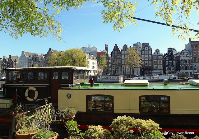Amsterdam på våren