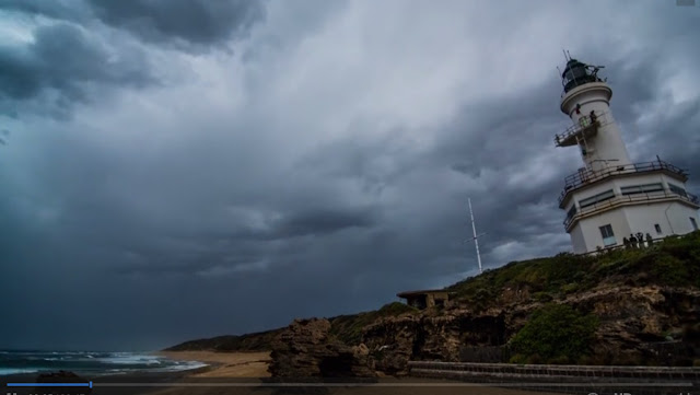 Stormy Skies Near Melbourne