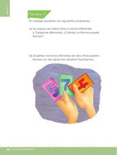 Apoyo Primaria Desafíos Matemáticos 2do Grado Bloque IV Lección 46 Trajes