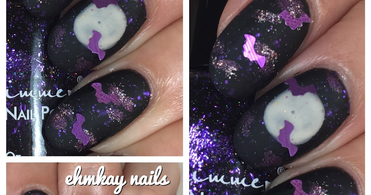 Full Moon Nail Art Communiquerenligne