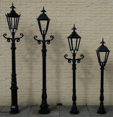 tiang lampu antik klasik