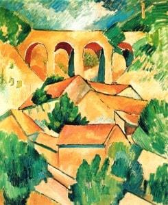 Georges Braque, le Viaduc de l'Estaque, malooka