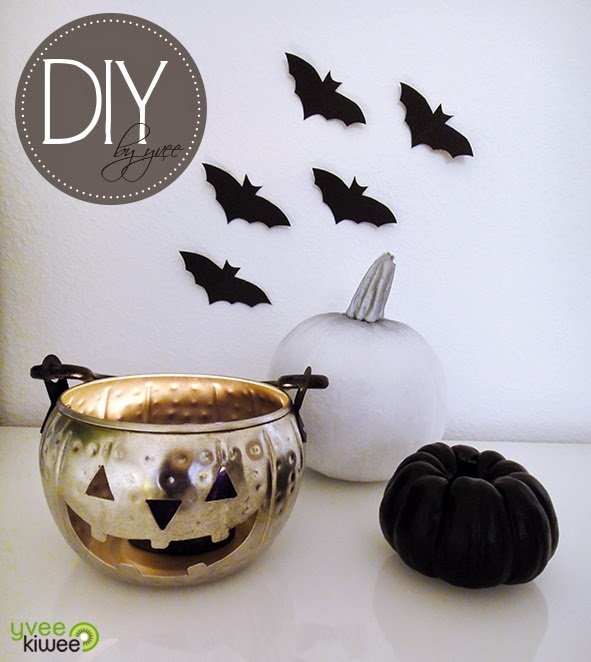 yvee kiwee diy lastminute halloween deko. Black Bedroom Furniture Sets. Home Design Ideas