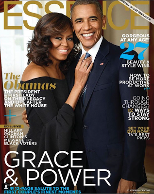 Barack and Michelle Obama cover the special collector's issue of Essence magazine