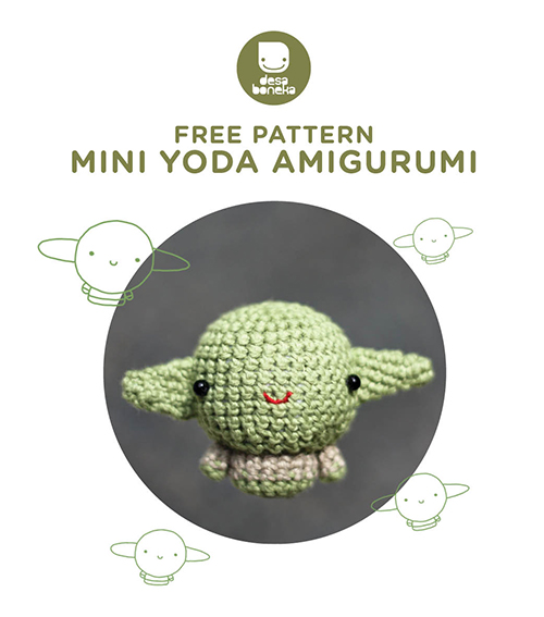 BABY YODA INSPIRED | HOW TO CROCHET | AMIGURUMI TUTORIAL | FAN ART ... | 567x500