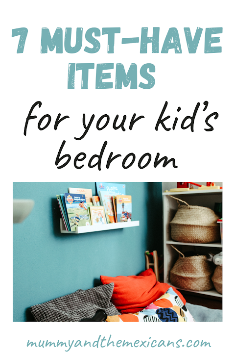 7 Must-have items for your kid's bedroom