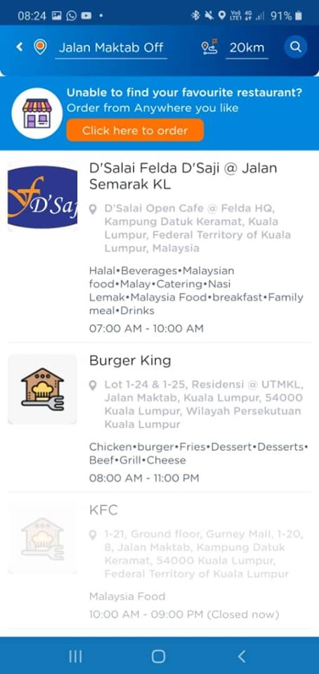 D'Salai, D'Salai by Felda D'Saji KL, Stay At Home, Covid-19, Rawlins Eats, Health by Rawlins, Food Delivery, Bungkusit, Food Panda