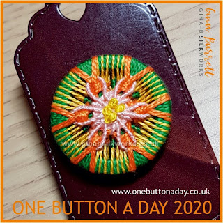 One Button A Day 2020 by Gina Barrett - Day 12 : Spring Wish
