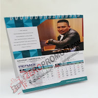 Kalender Meja Custom Uk.15X27cm