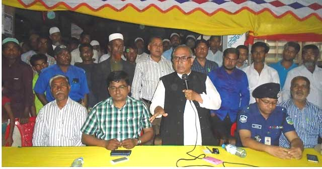 Solar distribution among the power-hungry people in Bakshiganj