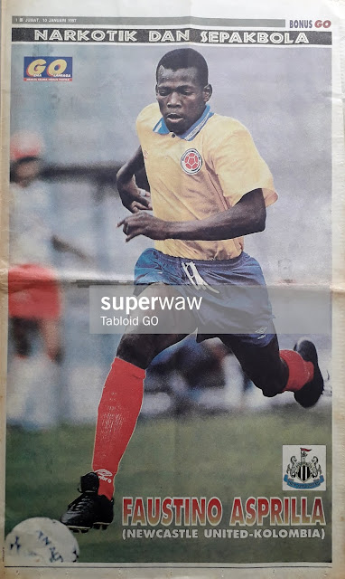 FAUSTINO ASPRILLA OF COLUMBIA 1996
