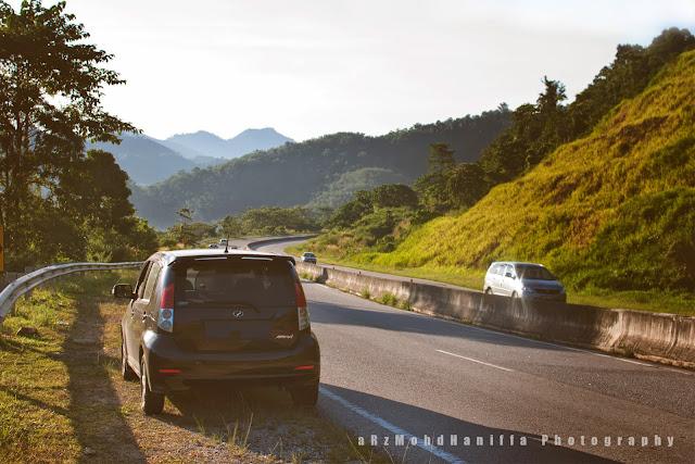 Tips selamat dalam perjalanan balik kampung menaiki kenderaan, doa naik kenderaan, tips selamat menaik kenderaan ketika balik kampung, gambar cantik, arzmoha, puncak titiwangsa,