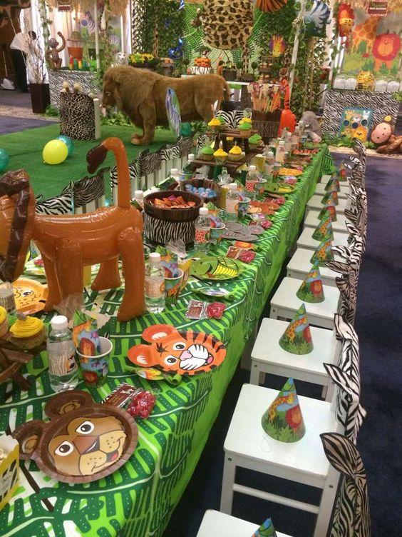 tiệc xinh 360, tiệc chủ đề rừng xanh, rừng xanh